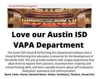 Love our Austin ISD VAPA