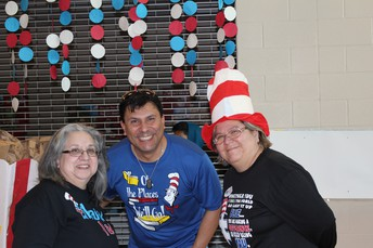 Snapshot Left to Right: Mrs. Hinojosa, Mr. Valdez & Ms. Garza, Asst. Principal