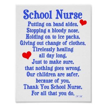 School Nurse Appreciation Day!