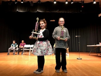 Intermediate Spelling Bee Winners