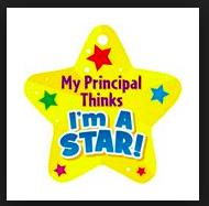 Thursday, 5/24 Principal Pride Awards for 1st, 2nd & 3rd-Grade!