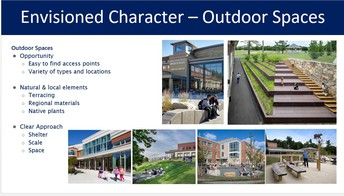 Envisioned Character - Outdoor Spaces