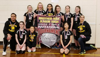 Grade 7 Girls Volleyball