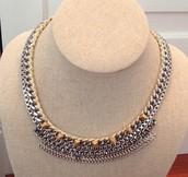 SOLD / Cassady Collar Necklace - $30