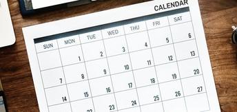 2019-20 Calendar at a Glance
