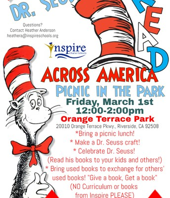 Read Across America - March 1 - Riverside