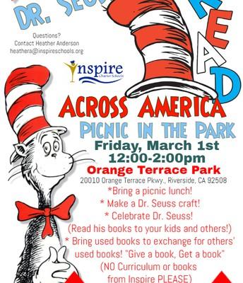 Read Across America - March 1 - Riverside
