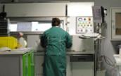 Radiology department equipment