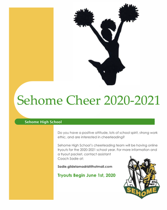 Sehome Cheer Tryouts