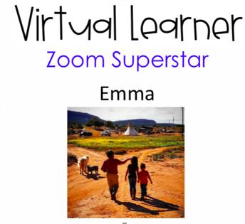 2nd Grade On Task Zoom Superstar
