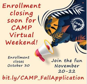 CAMP's Virtual Programs
