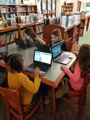 Glenside Students Learn Online Research Skills