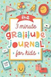 3 Minute Gratitude Journal for Kids