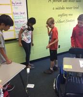 Lunar Landers in Ms. Lawson's class