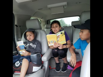Reading to Family!