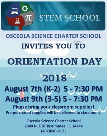 Orientation Day is Coming Soon!