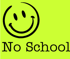 Reminder: No School