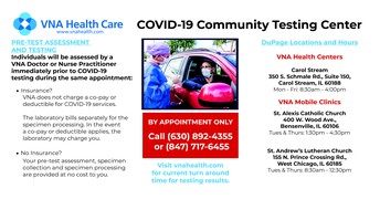 COVID-19 Testing Available