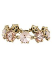 Amerie Sparkle Bracelet in peach- $49