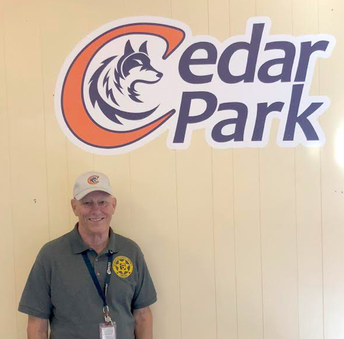 Meet Richard Rusch, Cedar Park's first Campus Supervisor