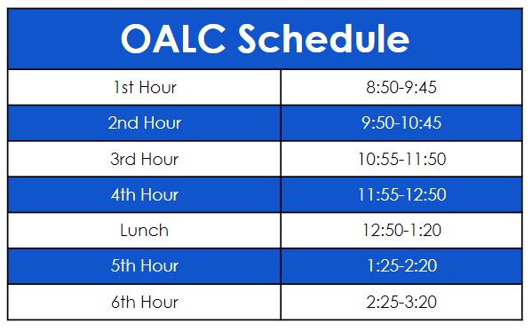 OALC Schedule