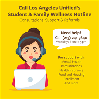 Student and Family Helpline