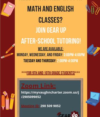 Math and English Tutoring