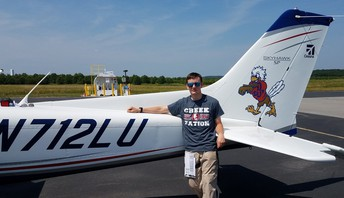 Cadet Earns Pilots License