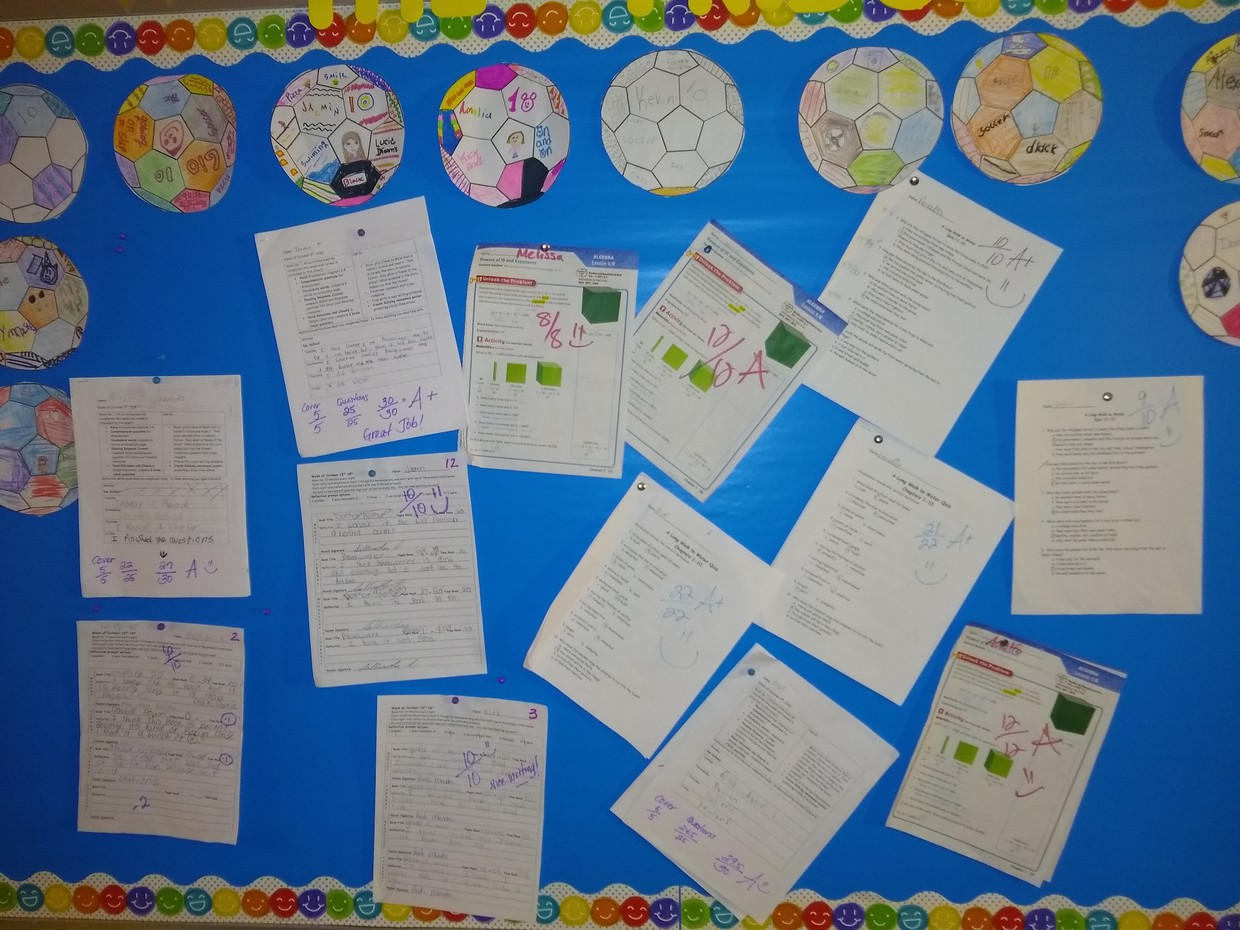 Excellent 5th Grade Work at Thigpen