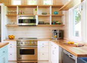 Countertops and cabinetry