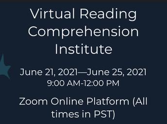 Corwin Virtual Reading Comprehension Summer Institute