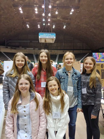 Regional Science Fair Participants