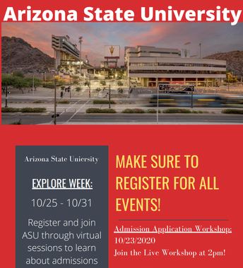 Arizona State University Virtual Tours