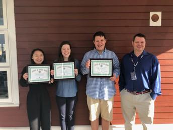 3 Monomoy Seniors Honored at Good Kid Award Breakfast