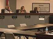 Maddison Clifton Sits with the Board!