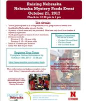 Raising Nebraska: Nebraska Mystery Foods Event