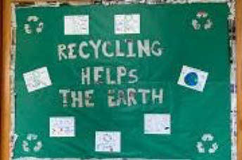 JIS Recycling Campaign Bulletin Board