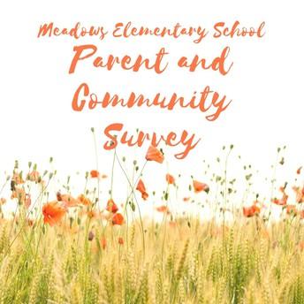 Parent  and Community Survey-Your Participation is Valued!