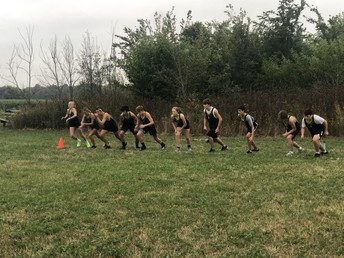 Columbia Central Cross Country off to a positive start!