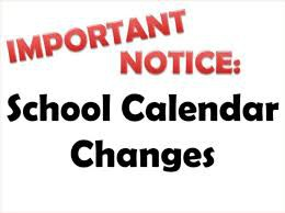 Updates Made to the 2020-2021 Avonworth School District Calendar