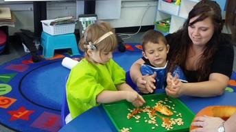 Preschoolers learn to listen & speak ~