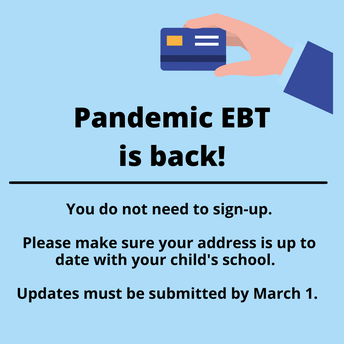 Bremerton School District Families eligible for Pandemic EBT funds