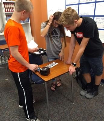 Mrs. Drueckhammer's class innovative lesson