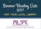 ALSC Summer Reading Lists!