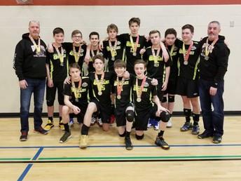 Grade 9 Boys Volleyball