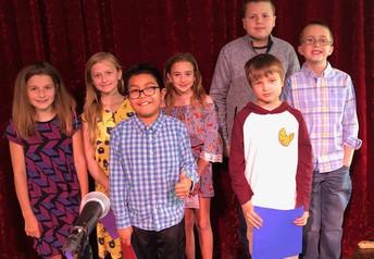 Great job 4th grade writers!