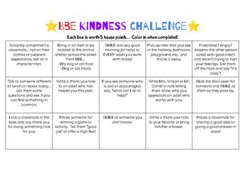 BBE Kindness Challenge