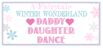 Fairytale Winter Wonderland Daddy - Daughter Dance