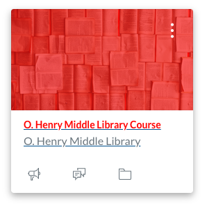 Library Blend Course