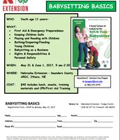 Babysitting Basics- Saunders County